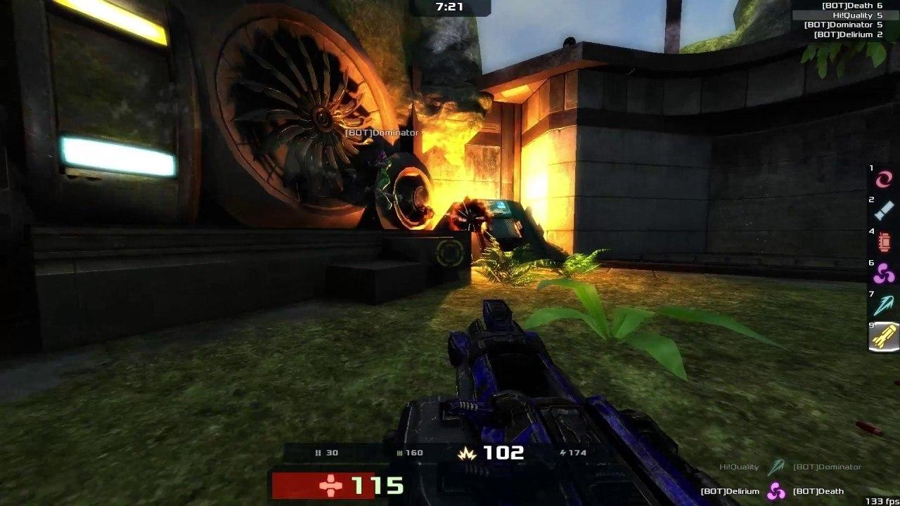 بازی Xonotic